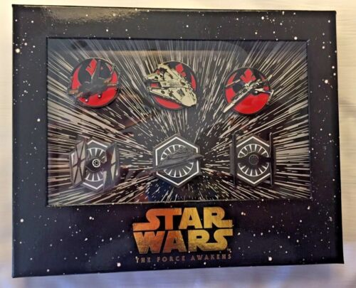 Star Wars Resistance & First Order Ships Fighters Box Set 6 Pins LE 500 D23 2015