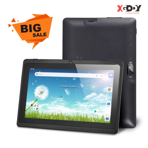 """XGODY 7"""" INCH ANDROID 8.1 WIFI Tablet 4-core 1GB+16GB Dual Camera For Kids Study"""