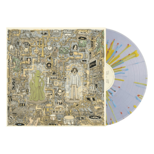 WEEZER - OK Human - LP - Indies Only Yellow, Blue and Red Splatter on Clear V...