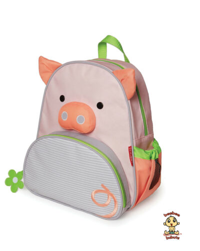 Skip Hop Zoo Little Kid Backpack PIG design Authentic and Brand New