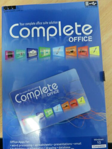 Compete Office USB Software - Opened