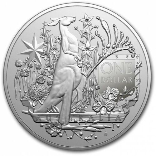 RAM AUSTRALIE 1 Dollar Argent 1 Once Coat of Arms 2021