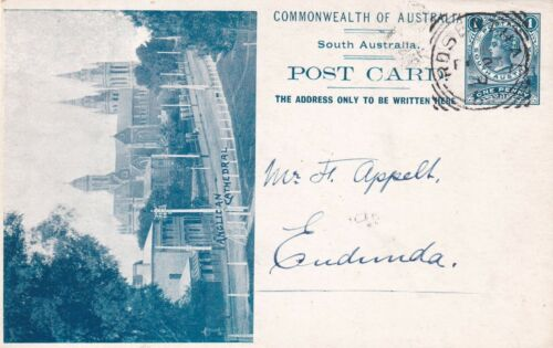 VINTAGE POSTCARD  RARE SOUTH AUSTRALIAN ANGLICAN CATHEDRAL S.AUSTRALIA   1900s