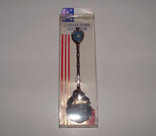 Padre Island Texas The Lone Star State Souvenir Spoon, Josef, pre-owned
