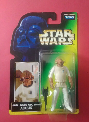 STAR WARS ADMIRAL ACKBAR - THE POWER OF THE FORCE BOITE FRANCAISE - 1998 - 6061