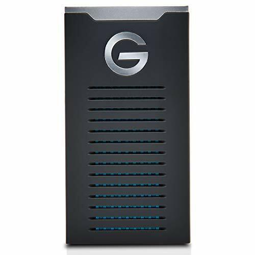 G-Technology 500GB G-DRIVE Mobile SSD up to 560 MBs, Portable Storage, Drop, Sh