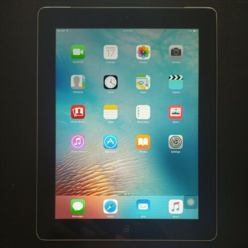 Apple iPad 2 16GB, Wi-Fi + Cellular, 9.7in - Black (includes case and charger)
