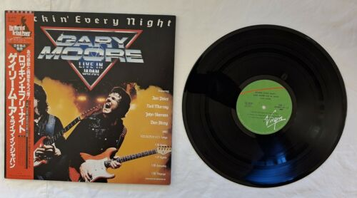 Vinyl Records Gary Moore Rockin' Every Night - Live In Japan