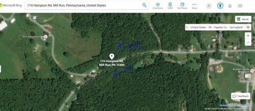 No Reserve! Pennsylvania. Home Site! 6.50+  Acres. Large Lot, Fayette County, PA <br/> Beautiful site! 6.50 Acres, Mill Run,  PA 15464