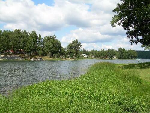 Walk to Crown Lake Horseshoe Bend AR <br/> Heavily Treed Lot with Great views