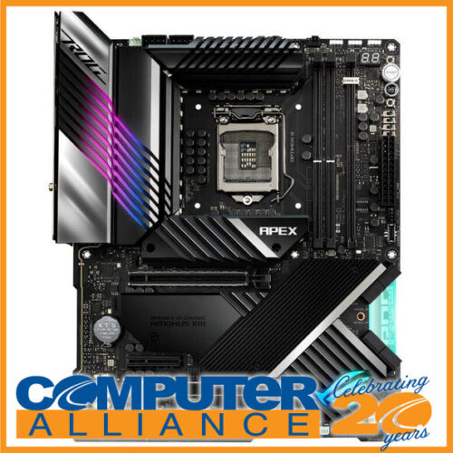 ASUS S1200 EATX Z590 ROG MAXIMUS XIII APEX DDR4 Motherboard