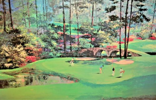 MARK KING Martin Lawrence Limited Edition Golf Course Landscape Lithograph Print