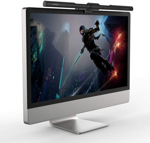 Computer Monitor Lamp, GlobaLink 40cm Auto-Dimming & Stepless-Dimming with Touch