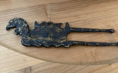 17th C Sulawesi Brass Beetle Nut Cutter…  unusual collector's item...