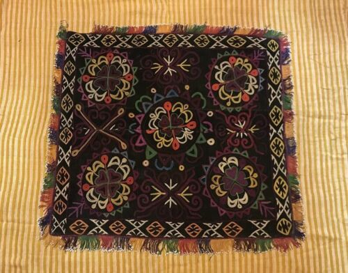 Rare lakai embroidered textiles, antique Tablecloth, Home Decorations Wall Hang