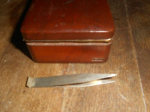 Pocket Chas. Kohlbusch Precision pocket Trade Scale Wood Case 1800S Nice