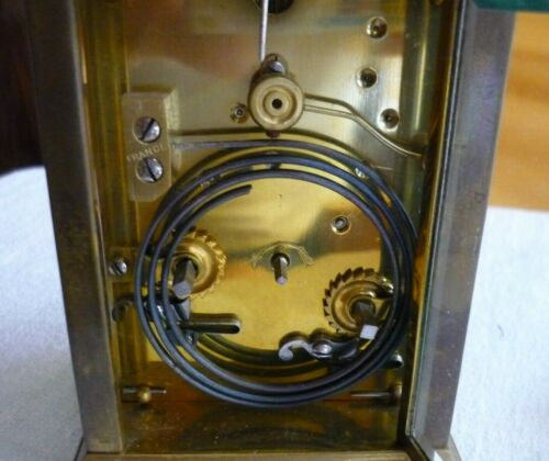 """Antique French Striking Carriage Clock  """"Anglaise Case"""""""