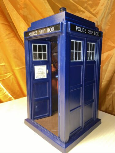 Doctor Who Tardis BBC 1963 Police Public Call Box Worldwide Limited Sound Light