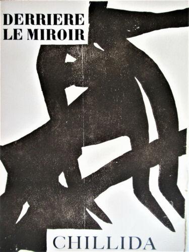 CHILLIDA  -  DERRIERE LE MIROIR 90-91 - COVER ONLY - 1956 - FREE SHIP I US  !!!