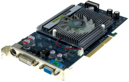 POINT OF VIEW NVIDIA GEFORCE 6800 R-VGA150680A AGP 512MB DDR2