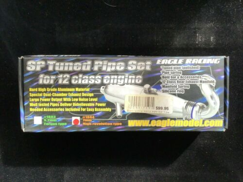 Eagle Racing SP  Tuned Pipe Set for 12 class engine 1884-075