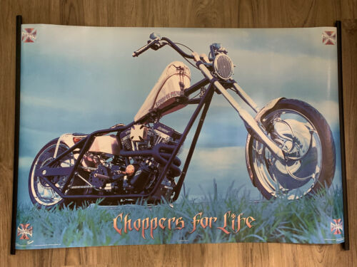 2005 WCC Copper Choppers For Life Motorcycle Bike Poster 22.375x34'' Inch