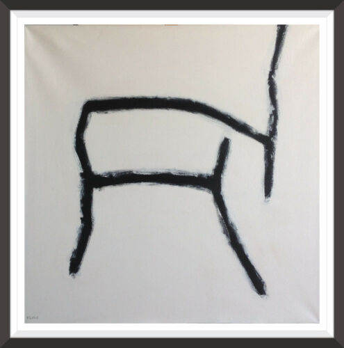 FRANZ KLINE ABSTRACT EXPRESSIONIST PAINTING