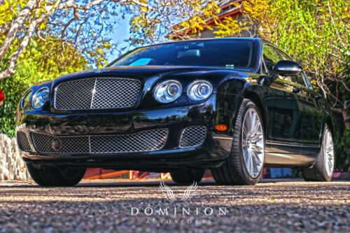 2013 Bentley Continental Flying Spur FLYING SPUR SPEED 2013 6.0L Twin Turbo W12  600 hp @ 6000 rpm