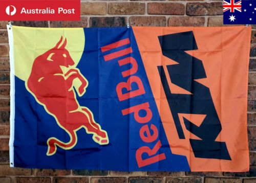 KTM Red Bull Flag SX SXF Racing gear 150X90cm New Collectable Mancave Gift 🏍