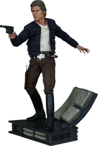 """STAR WARS - Han Solo 20"""" Premium Format Statue (Sideshow Collectibles) #NEW"""