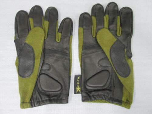 Tactical leather gloves   K-TIC