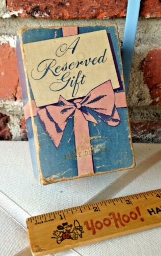 Vintage 1952 Reserved Christmas Gift For The Man Or Woman Who Has Everything!