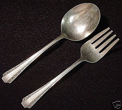 AMERICAN COLONIAL- AMSTON 2PC STERLING BABY SET