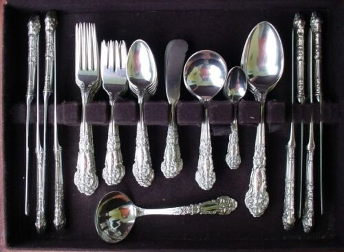 Reed & Barton French Renaissance 61pc Sterling Set / 8