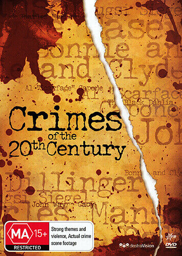 CRIMES OF THE 20TH CENTURY - TRUE STORY SERIAL KILLERS & CRIMINALS 2 DISC DVD
