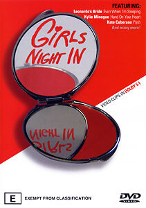 GIRLS NIGHT IN - 17 AUSTRALIAN HITS ORIGINAL ARTISTS OFFICIAL MUSIC VIDEOS DVD