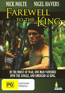 Nick Nolte FAREWELL TO THE KING DVD