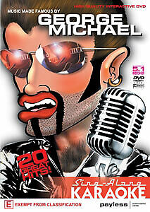 SING-ALONG KARAOKE - GEORGE MICHAEL DVD