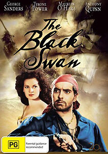 Tyrone Power Maureen O'Hara Anthony Quinn THE BLACK SWAN DVD