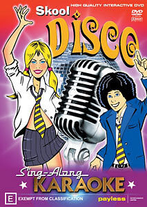 SING-ALONG KARAOKE - SKOOL DISCO DVD