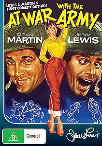 Dean Martin Jerry Lewis AT WAR WITH THE ARMY DVD