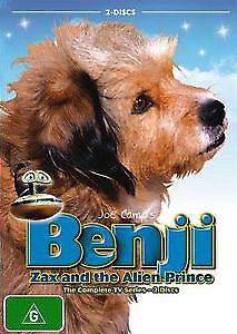 Joe Camp's BENJI, ZAX & THE ALIEN PRINCE (THE COMPLETE TV SERIES) 2 DISC SET DVD