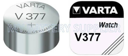 Varta 377 V377 SR626SW Silver Oxide watch Battery