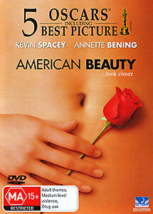 Kevin Spacey Annette Bening AMERICAN BEAUTY - 5 OSCAR AWARDS MASTERPIECE DVD