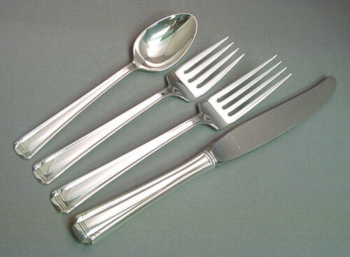 JOHN & PRISCILLA - WESTMORLAND 4 PIECE STERLING LUNCH PLACE SETTING(S)