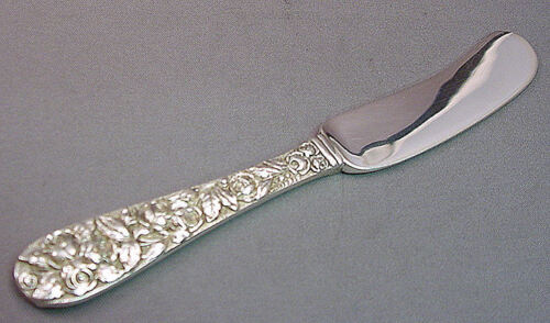 BALTIMORE ROSE-SCHOFIELD All STERLING HEAVY BUTTER SPREADER(S)