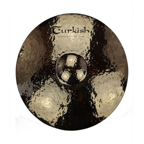 "TURKISH CYMBALS Becken 20"" Ride Rock Beat Raw bekken cymbale cymbal 2507g"