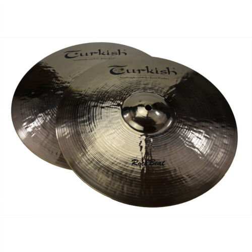 "TURKISH CYMBALS Becken 14"" HiHat Rock Beat bekken cymbale cymbal 1150/1340g"