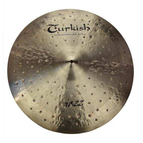 "TURKISH CYMBALS Becken 22"" Ride Jazz bekken cymbale cymbal 2851g"