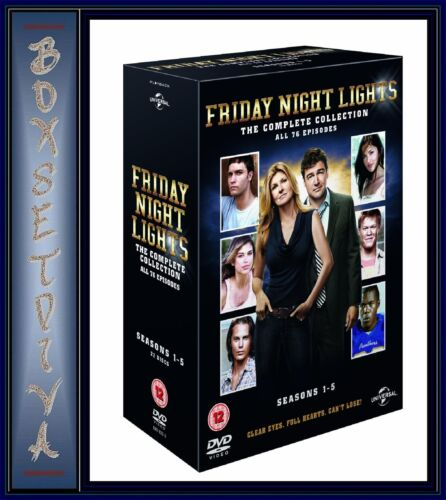 FRIDAY NIGHT LIGHTS - COMPLETE SERIES 1 2 3 4 & 5 **BRAND NEW DVD BOXSET **